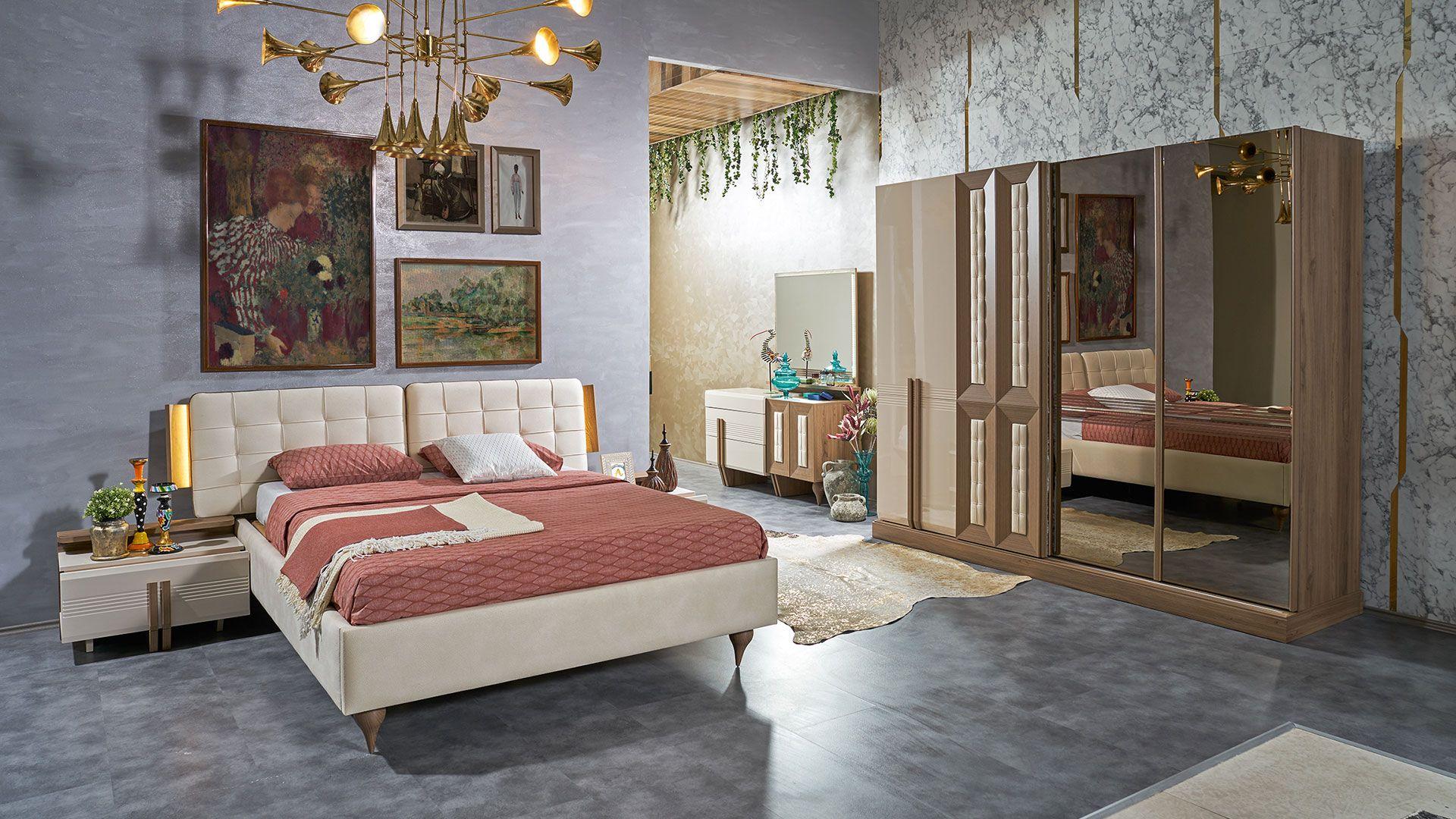 غرف النوم مودرن
