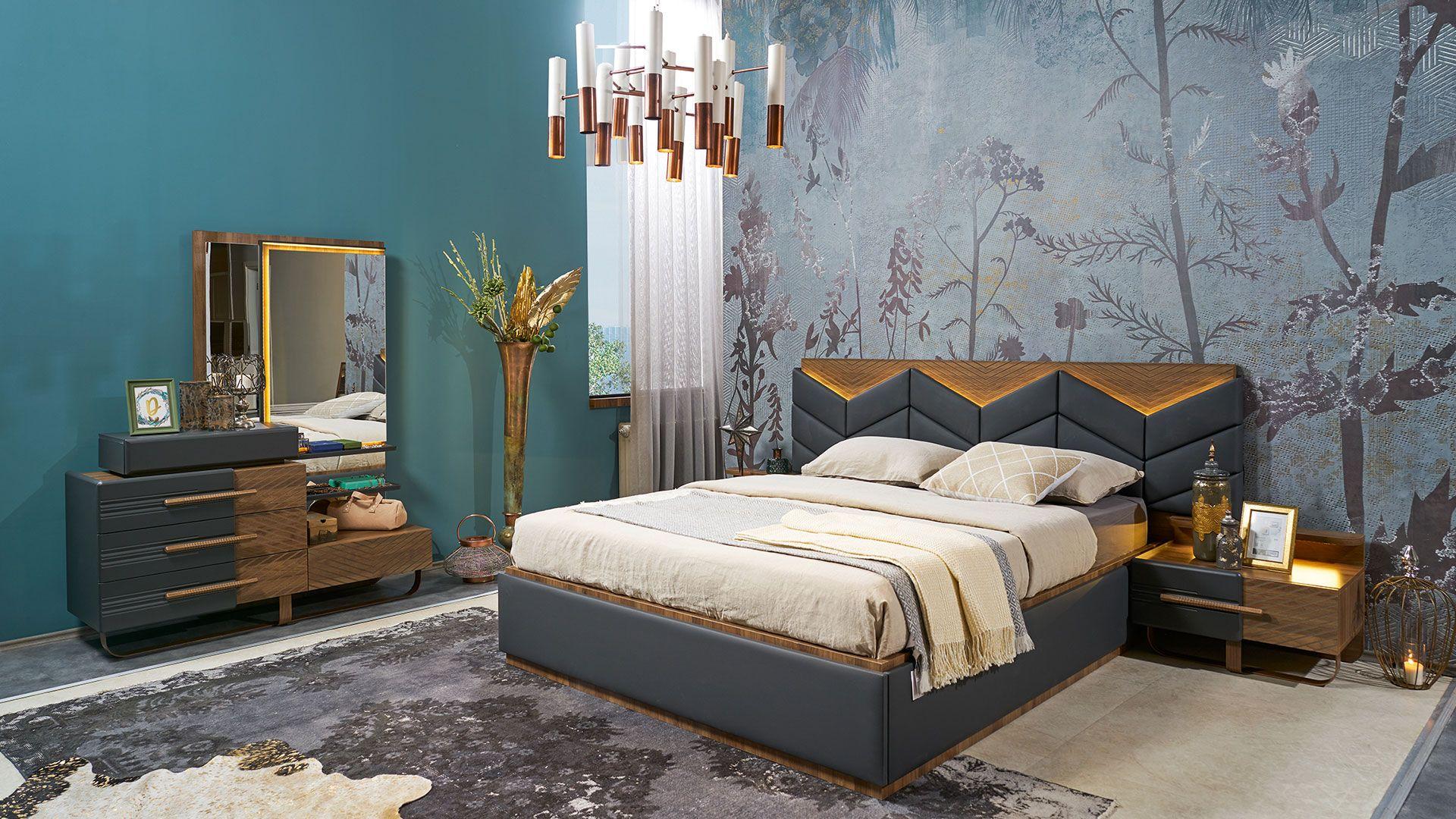غرفة نوم مودرن 2020