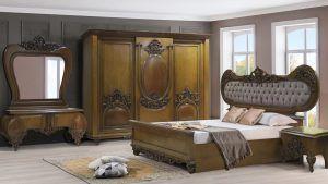 غرف نوم كلاسيكيه