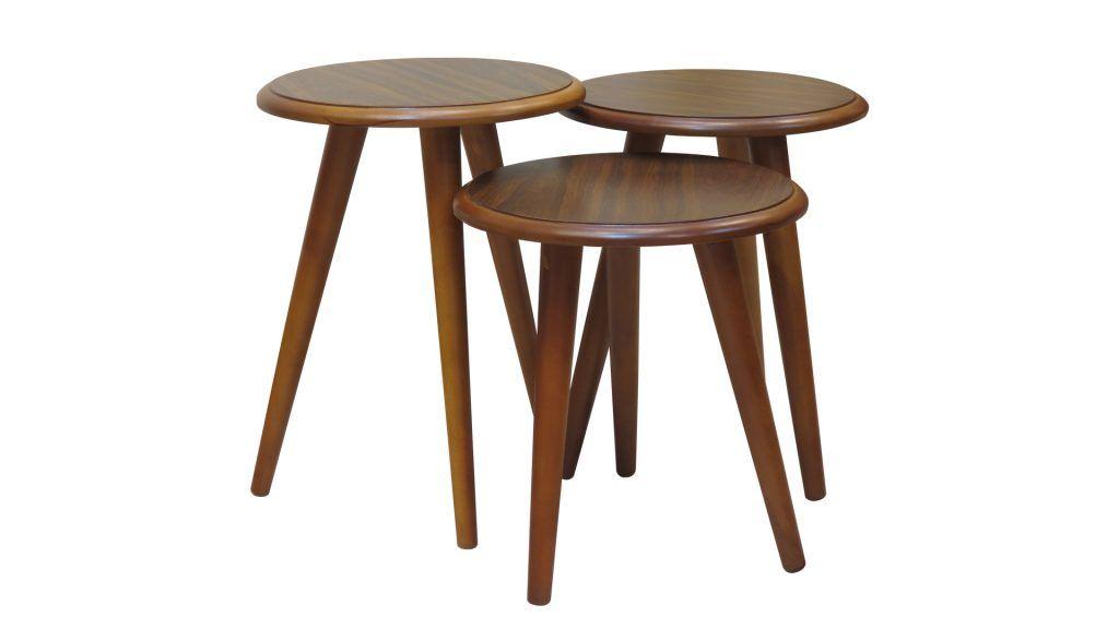 Brown Tables Set